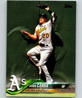 2018 Topps Update #US239 Mark Canha Like New Oakland Athletics