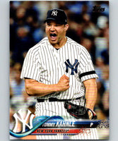 2018 Topps Update #US254 Tommy Kahnle Like New New York Yankees