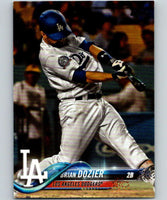 2018 Topps Update #US263 Brian Dozier Like New Los Angeles Dodgers