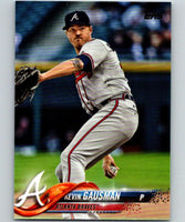 2018 Topps Update #US265 Kevin Gausman Like New Atlanta Braves