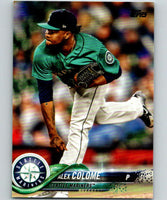 2018 Topps Update #US267 Alex Colome Like New Seattle Mariners