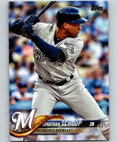 2018 Topps Update #US287 Jonathan Schoop Like New Milwaukee Brewers