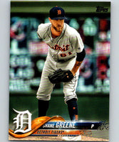 2018 Topps Update #US294 Shane Greene Like New Detroit Tigers