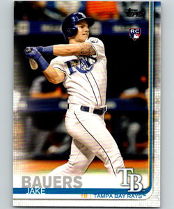 2019 Topps #311 Jake Bauers MINT RC Rookie Tampa Bay Rays 07491