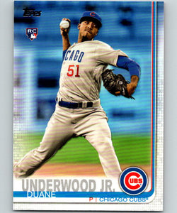 2019 Topps #315 Duane Underwood Jr. MINT RC Rookie Chicago Cubs 07492