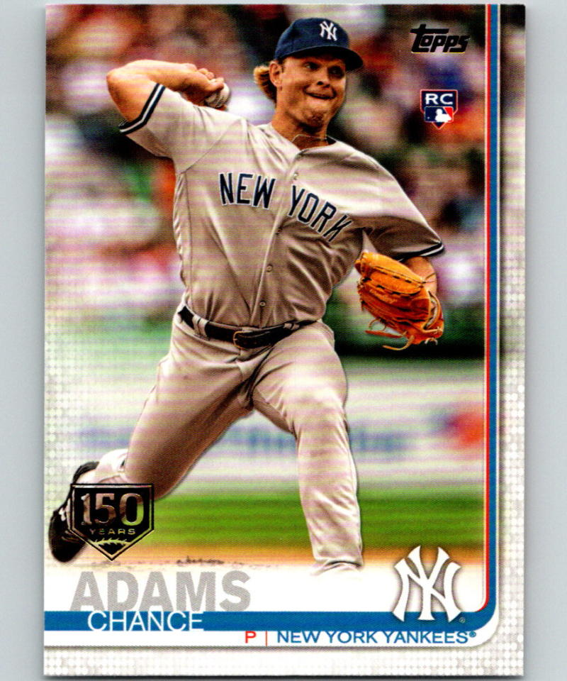 2019 Topps 150th Anniversary #98 Chance Adams MINT RC Rookie 07494