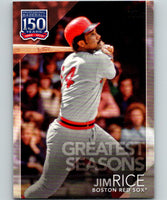 2019 Topps 150 Years of Professional Baseball #150-150 Jim Rice MINT 07503