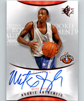 2008-09 SP Authentic Rookie Autographs #135 Mike Taylor Auto RC 07528