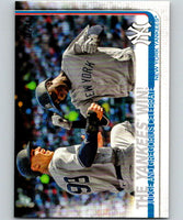 2019 Topps #14 The Yankees Win Mint New York Yankees