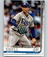 2019 Topps #24 Blake Snell Mint Tampa Bay Rays