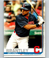 2019 Topps #51 Michael Brantley Mint Cleveland Indians