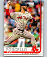 2019 Topps #54 Rick Porcello Mint Boston Red Sox