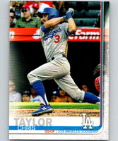 2019 Topps #72 Chris Taylor Mint Los Angeles Dodgers