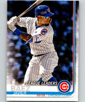 2019 Topps #90 Javier Baez Mint Chicago Cubs