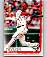 2019 Topps #101 Michael Taylor Mint Washington Nationals