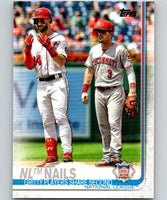 2019 Topps #145 NL Nails Mint National League