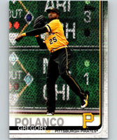 2019 Topps #198 Gregory Polanco Mint Pittsburgh Pirates