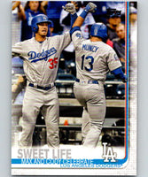 2019 Topps #202 Sweet Life Mint Los Angeles Dodgers