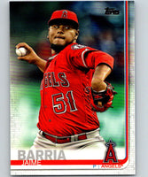2019 Topps #206 Jaime Barria Mint Los Angeles Angels