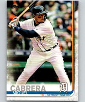 2019 Topps #230 Miguel Cabrera Mint Detroit Tigers