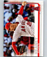 2019 Topps #257 Andrew Heaney Mint Los Angeles Angels