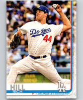 2019 Topps #283 Rich Hill Mint Los Angeles Dodgers