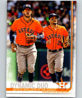 2019 Topps #294 Dynamic Duo Mint Houston Astros