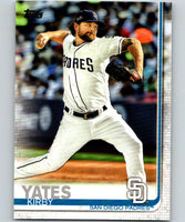 2019 Topps #347 Kirby Yates Mint San Diego Padres