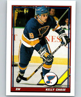 1991-92 O-Pee-Chee #23 Kelly Chase Mint St. Louis Blues