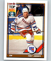 1991-92 O-Pee-Chee #26 Tony Amonte Mint RC Rookie New York Rangers