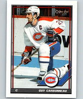 1991-92 O-Pee-Chee #54 Guy Carbonneau Mint Montreal Canadiens
