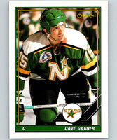 1991-92 O-Pee-Chee #74 Dave Gagner Mint Minnesota North Stars