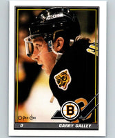 1991-92 O-Pee-Chee #86 Garry Galley Mint Boston Bruins