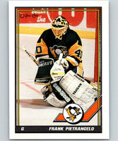 1991-92 O-Pee-Chee #114 Frank Pietrangelo Mint Pittsburgh Penguins