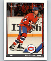 1991-92 O-Pee-Chee #119 Russ Courtnall Mint Montreal Canadiens