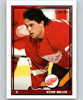 1991-92 O-Pee-Chee #125 Kevin Miller Mint Detroit Red Wings