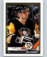 1991-92 O-Pee-Chee #130 Ron Francis Mint Pittsburgh Penguins