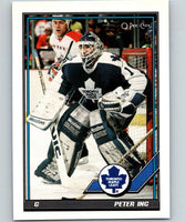 1991-92 O-Pee-Chee #145 Peter Ing Mint Toronto Maple Leafs