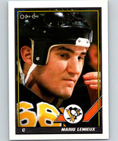 1991-92 O-Pee-Chee #153 Mario Lemieux Mint Pittsburgh Penguins