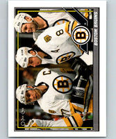 1991-92 O-Pee-Chee #170 Ray Bourque/Cam Neely Mint Boston Bruins
