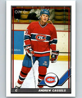 1991-92 O-Pee-Chee #176 Andrew Cassels Mint Montreal Canadiens