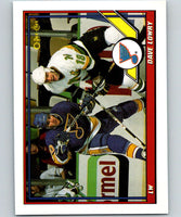 1991-92 O-Pee-Chee #180 Dave Lowry Mint St. Louis Blues