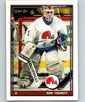 1991-92 O-Pee-Chee #181 Ron Tugnutt Mint Quebec Nordiques