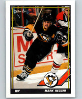 1991-92 O-Pee-Chee #196 Mark Recchi Mint Pittsburgh Penguins