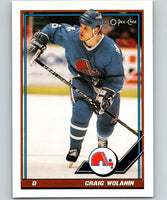1991-92 O-Pee-Chee #199 Craig Wolanin Mint Quebec Nordiques