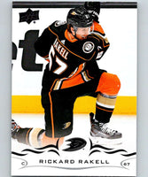 2018-19 Upper Deck #6 Rickard Rakell Mint Anaheim Ducks
