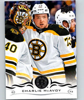 2018-19 Upper Deck #13 Charlie McAvoy Mint Boston Bruins