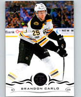 2018-19 Upper Deck #17 Brandon Carlo Mint Boston Bruins