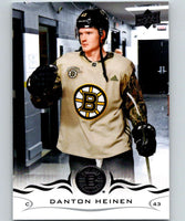 2018-19 Upper Deck #18 Danton Heinen Mint Boston Bruins