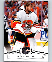 2018-19 Upper Deck #27 Mike Smith Mint Calgary Flames